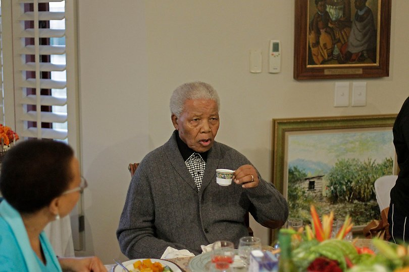 Nelson Mandela birthday photos