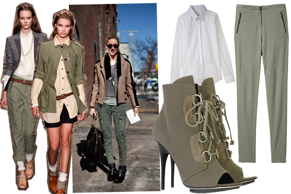 Military Outfits That Affects Fashion Trends
