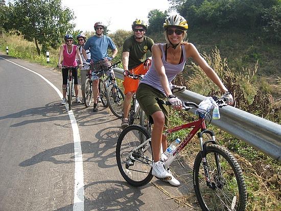 Sprawl Around Beautiful and Serene Laos On A Cycle