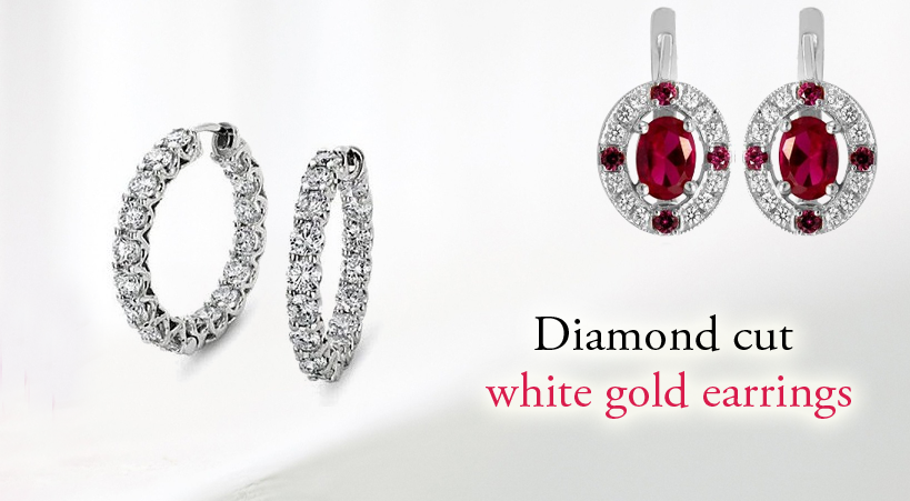 Growing Popularity Of White Gold Earrings