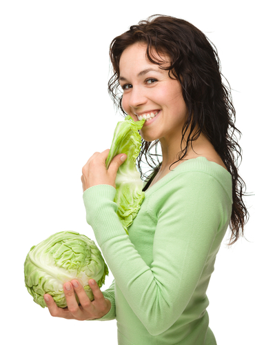 Benefits of Eating Greenish Leafy Cabbage1