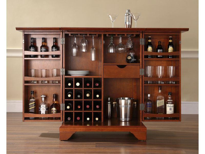 Building a Simple Wooden Home Bar by cellarbrations.com.au
