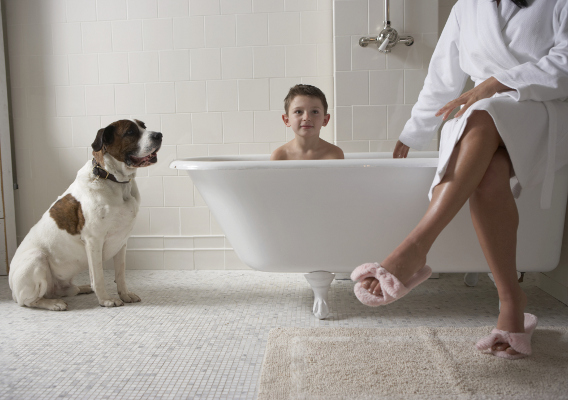 Golden Rules of Creating a Safe Bathroom for Your Kid by oxfordbathrooms.com.au