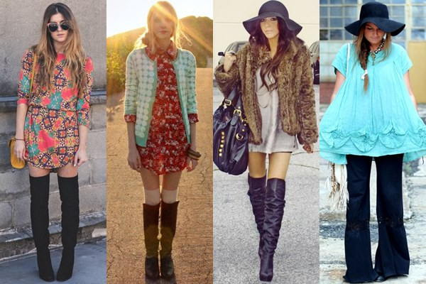 CLOTHES THAT COMPLEMENT TALL BOOTS