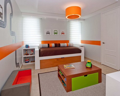 Installing Lights in the Children's Room by superlight.com.au
