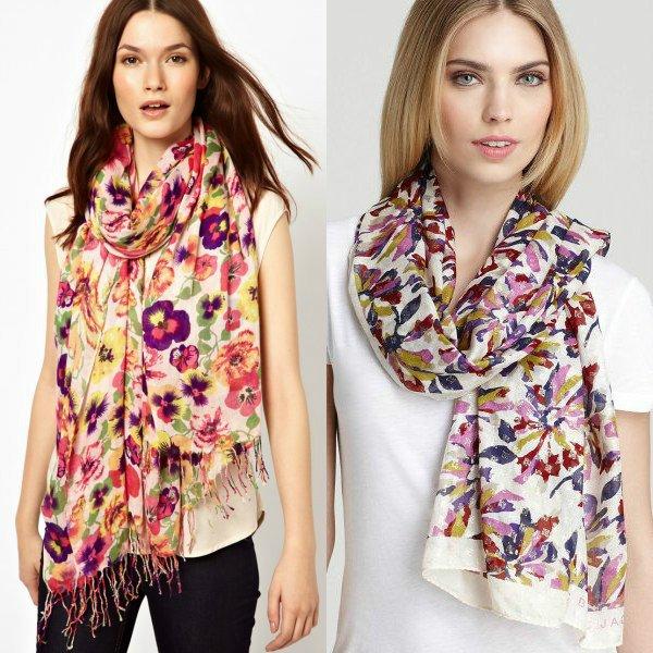 latest Fashion scarves