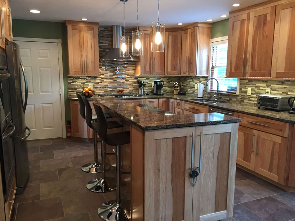 Kitchen Remodeling Canfield Changes Old Kitchen To New Modular Ones