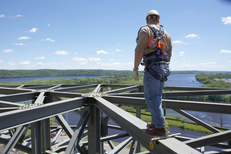 Safety Harness and Lanyard- Asset For Fall Protection