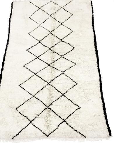 Wat maakt een Beni Ourain vloerkleed?