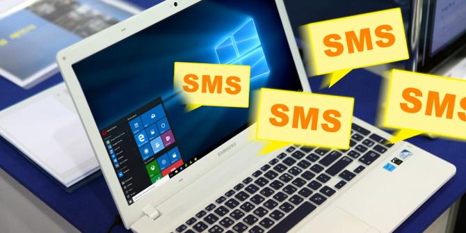 Send SMS Via A Desktop