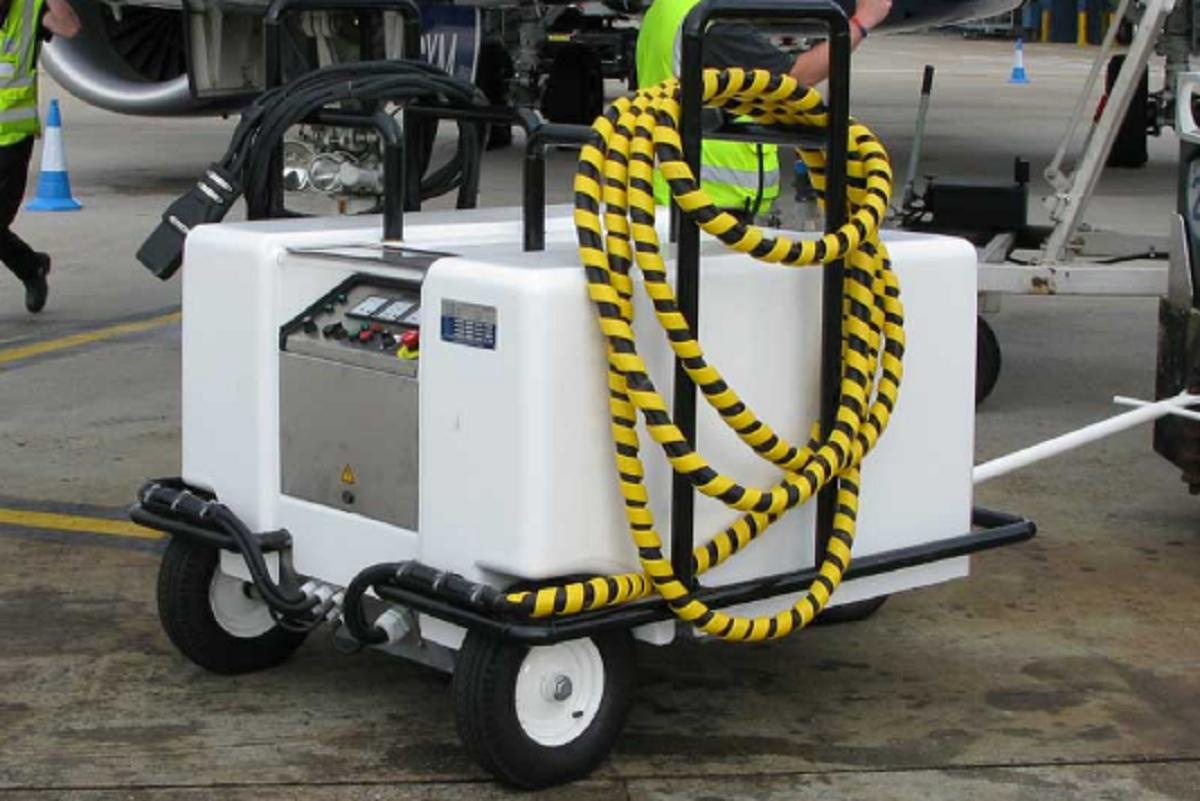 Aircraft Ground Power Supply Unit